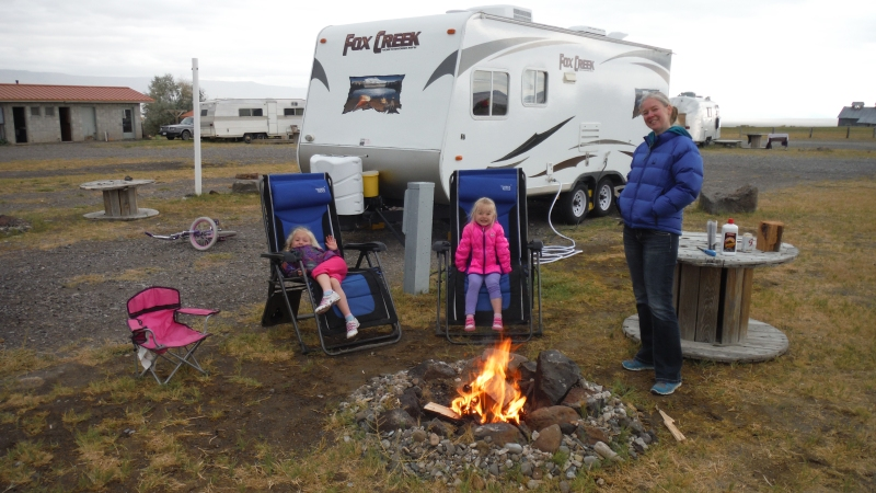Glampin In Style with my Girls.